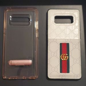 Two fashion phone cases for Note 8.